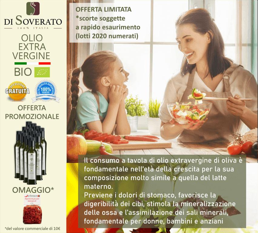offerta olio extravergine oliva biologico vero
