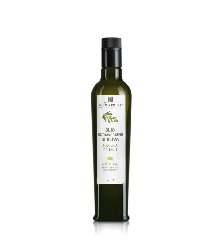 Olio di oliva extravergine biologico (bottiglia 0,75 L)