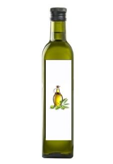 Olio di oliva extravergine (bottiglia 0,75 L)